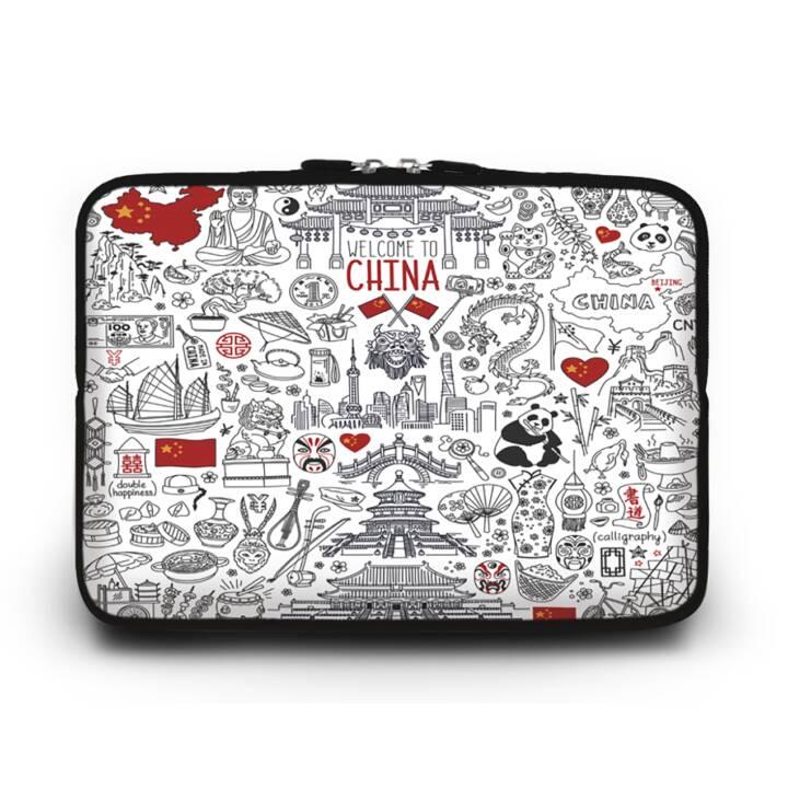 """EG HUADO Housse d'ordinateur portable pour 10"""" - Chine"""