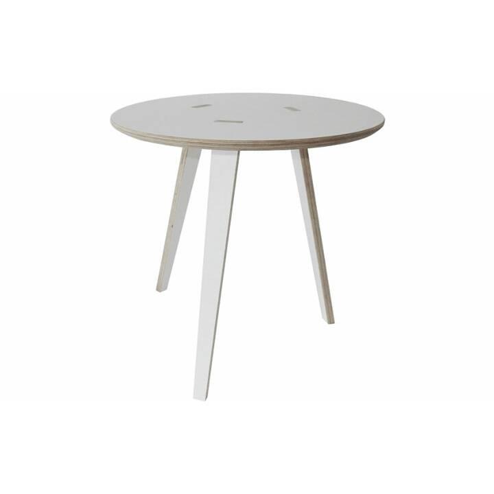 TOJO Tavolino (40 cm, Bianco)