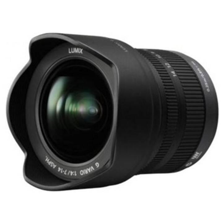 PANASONIC Lumix H-F007014E 7 mm - 14 mm f/4.0