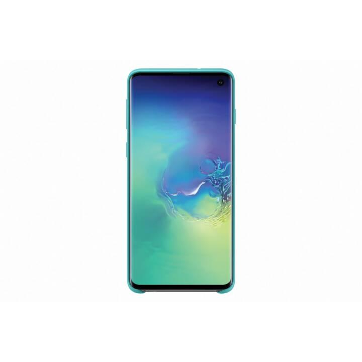SAMSUNG Backcover Silikon (Galaxy S10, Grün)