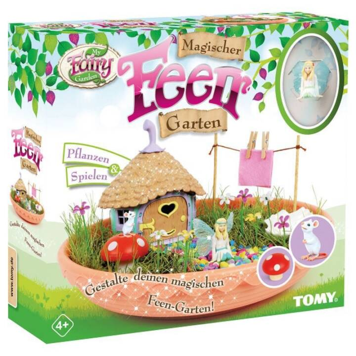 TOMY My Fairy Garden Magic Fairy Garden Fairy Garden