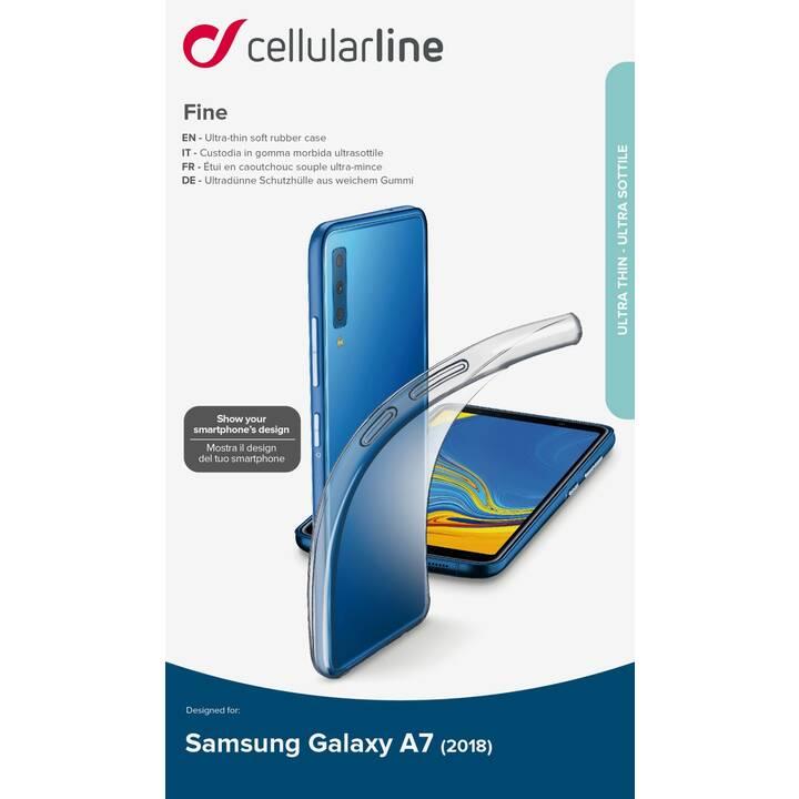 CELLULAR LINE FINECGALA72018T für Galaxy A7 2018