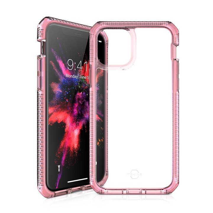ITSKINS Bumper Supreme Clear (iPhone 11 Pro, Pink, Transparent)