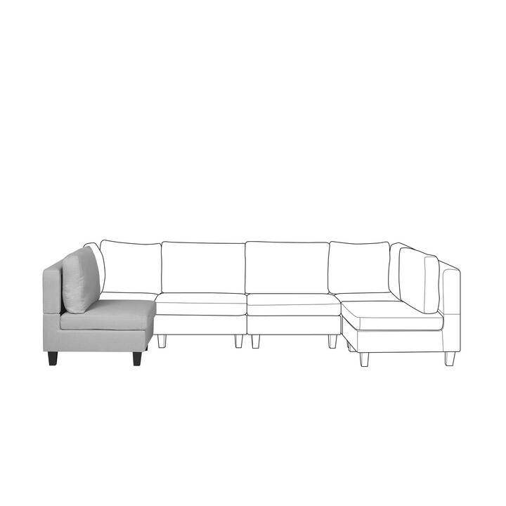 BELIANI Chaise rembourrées Fevik (Polyester)