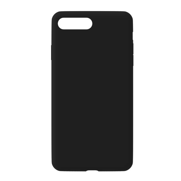 EVELATUS Backcover TPU (iPhone 7, iPhone 8, Schwarz)