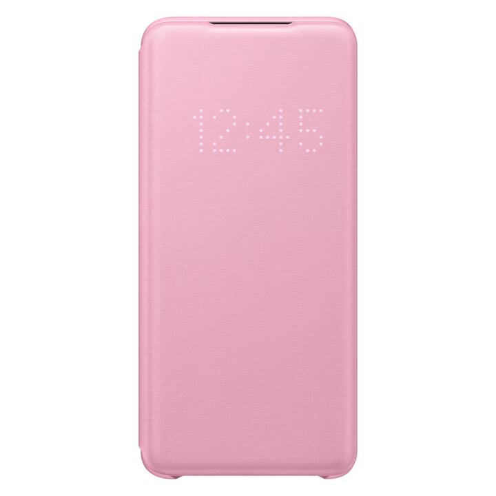 SAMSUNG Flipcover Book LED (Galaxy S20, Pink)