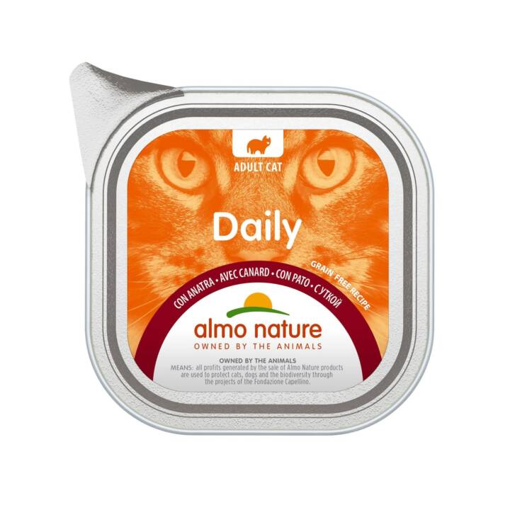 ALMO NATURE Daily (Adult, 100 g, Ente)