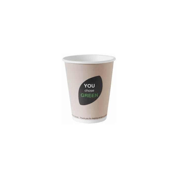 DUNI Thank you Einweg Trinkbecher (240 ml, 40 Stück)