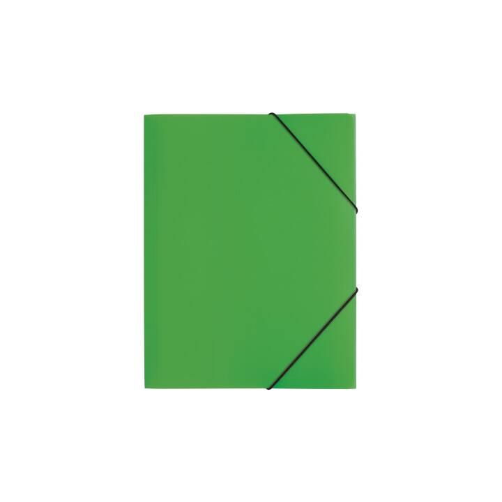 Chemise à élastique PAGNA, A4, verte