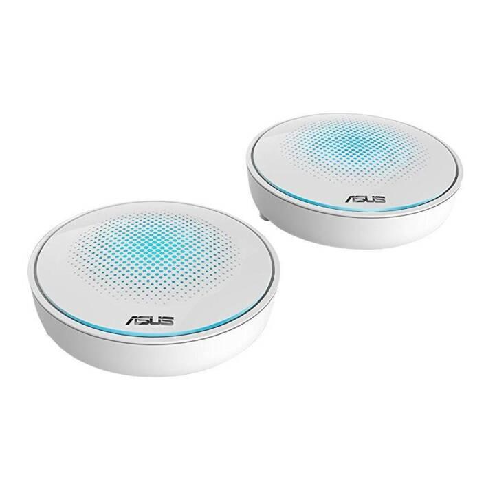 ASUS AC2200 Tri-Band Mesh Mesh WLAN Sistema Lyra 2er Set di rete ASUS AC2200 Lyra 2er