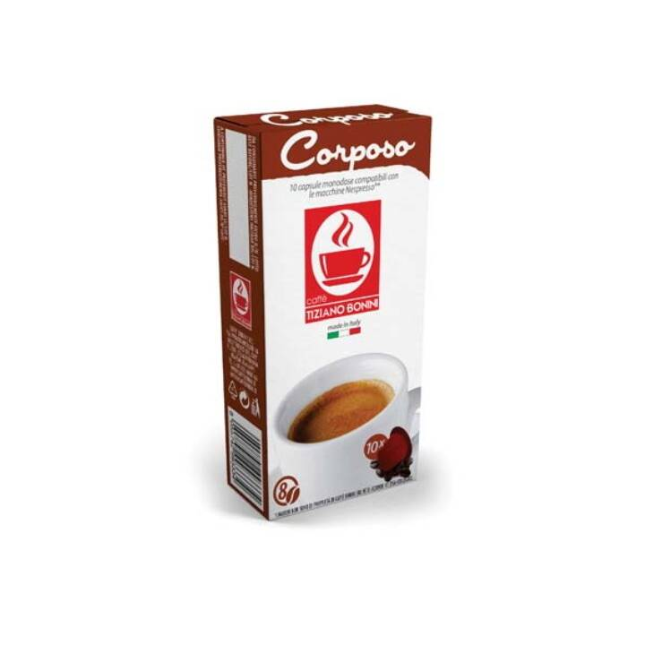 TIZIANO BONINI Capsule di caffè Corposo (10 pezzo)