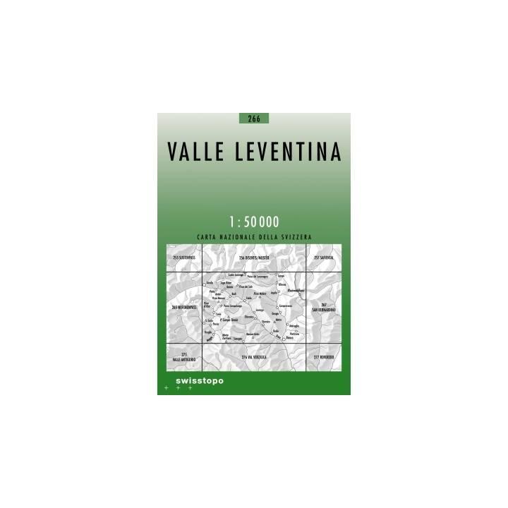 SWISSTOPO Landkarte Valle Leventina 1:50'000