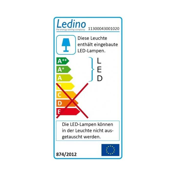 LEDINO Eckenheim 300 Plafoniera (Bianco)