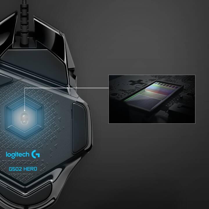 LOGITECH G502 Hero Maus (Kabel, Gaming)