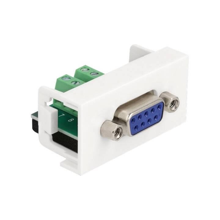 DELOCK Adapter (Terminalblock, DB-9)
