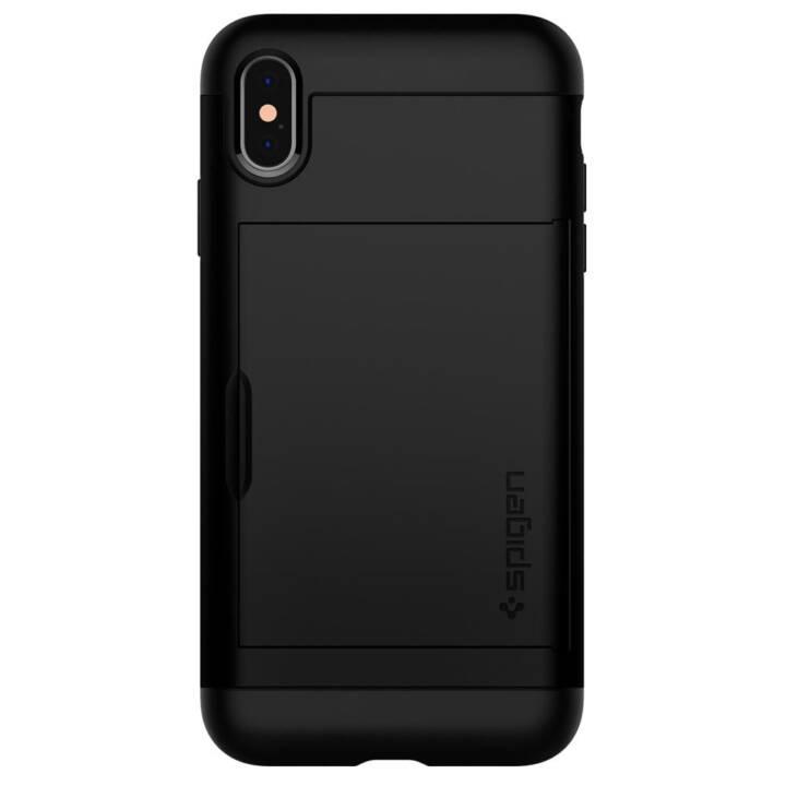 SPIGEN Slim Armor CS, iPhone XS Max, Noir