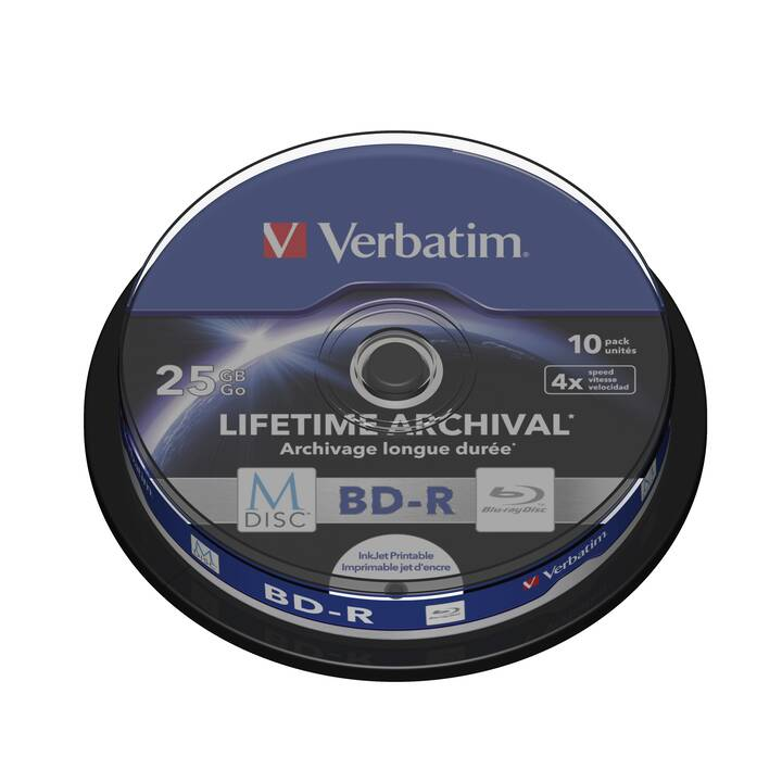 VERBATIM BD-R (25 GB)