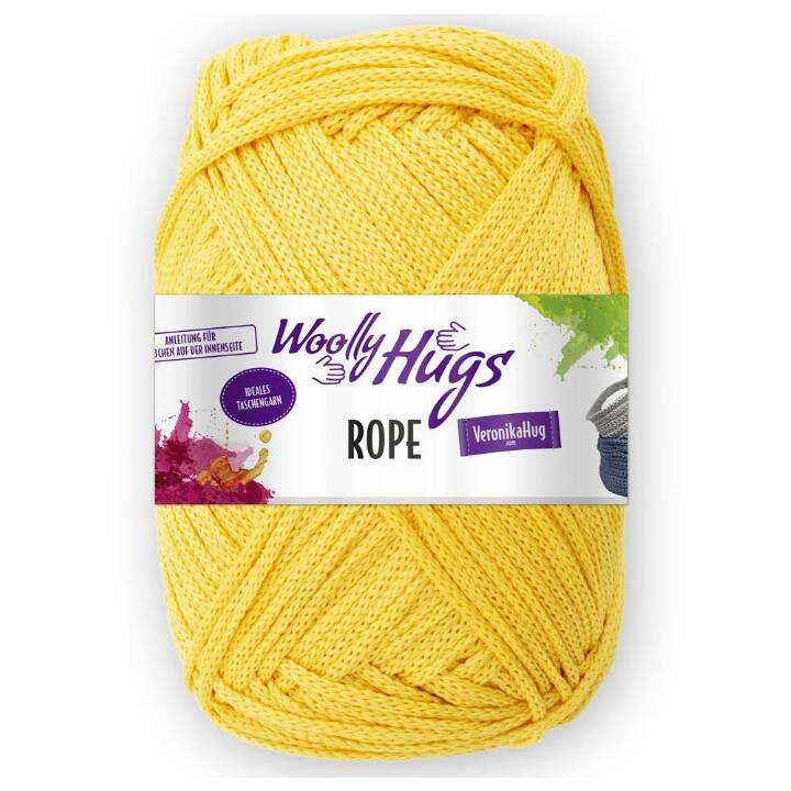 WOOLLY HUGS Laine (Jaune, Polyester, 140 cm)