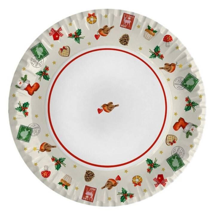 BRAUN + COMPANY Weihnachtsgeschirr (23 cm)