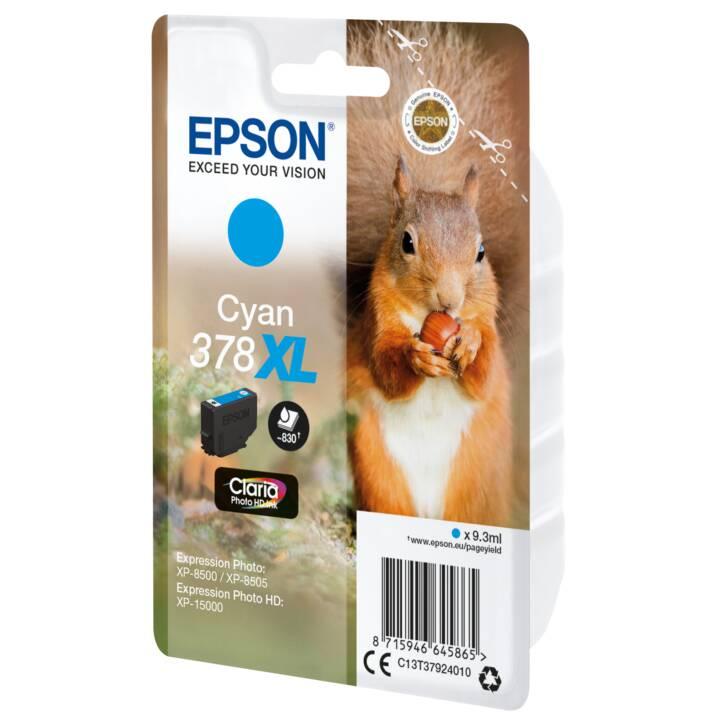EPSON cartouche simple 378 XL Cyan