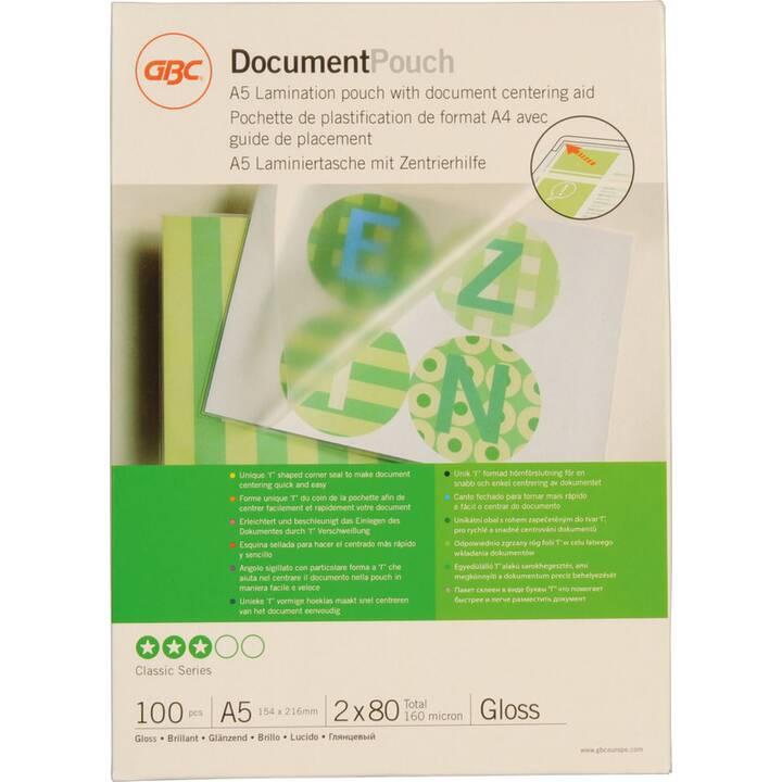 GBC Films de plastification (A5, 80 µm, 100 pezzo)