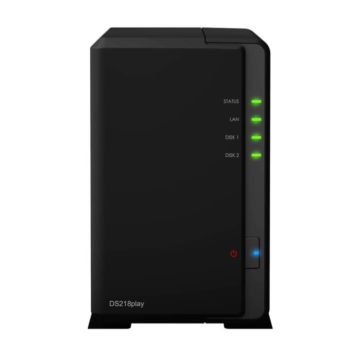SYNOLOGY DS218play 2 baies Seagate IronWolf