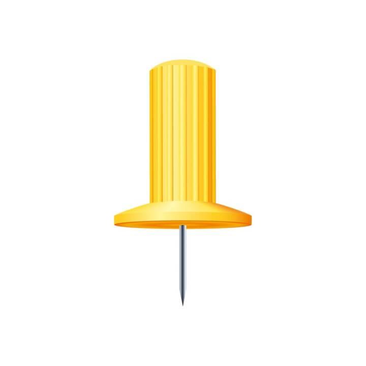 Aghi EXACOMPTA 7mm giallo