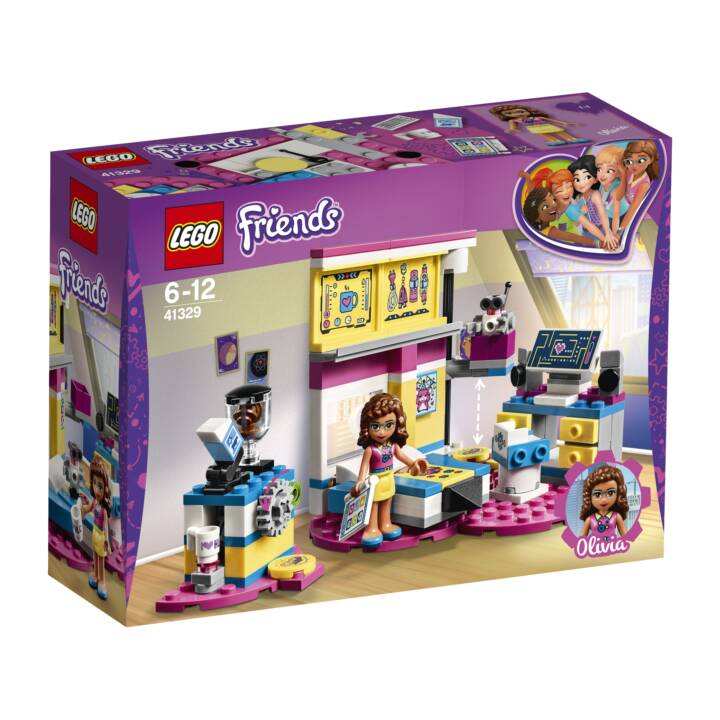 LEGO Friends Heartlake Olivias grosses Zimmer (41329)