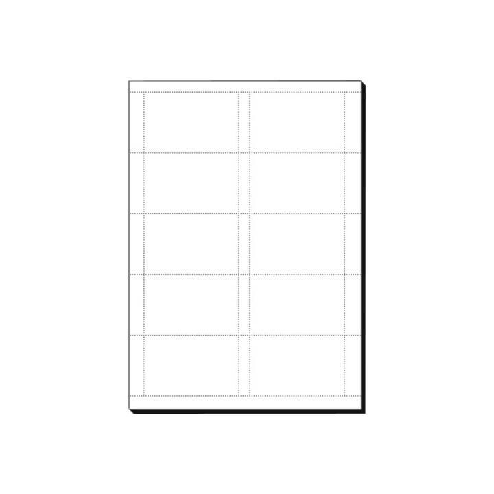 SIGEL Biglietti da visita (60 x, A4, 185 g/m2)