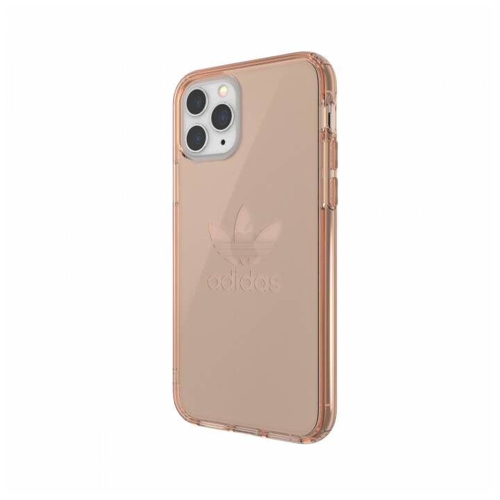 ADIDAS Backcover Protective Clear  (iPhone 11 Pro, Roségold)