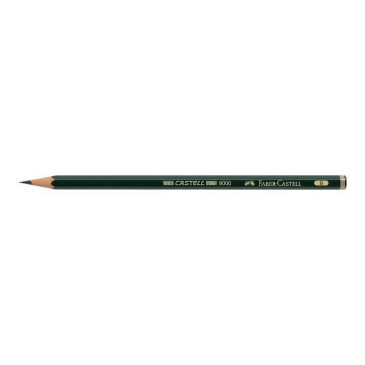 FABER-CASTELL Bleistift CASTELL 9000 B