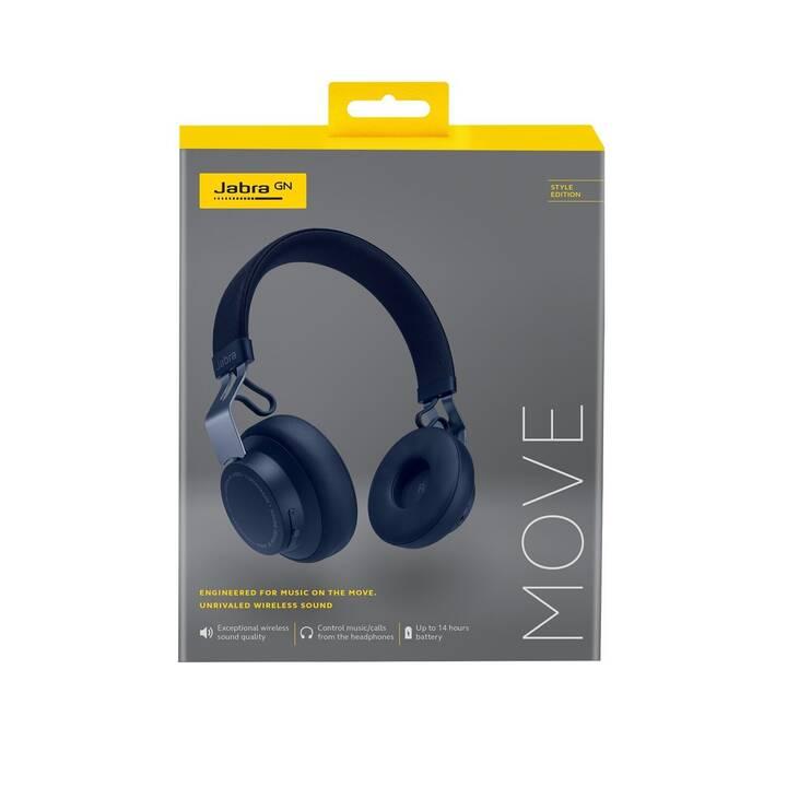 JABRA Style (On-Ear, Bluetooth 4.0, Bleu méditerranée)