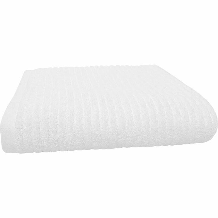 LIVIQUE Asciugamano Zoe (50 cm x 100 cm, Bianco)