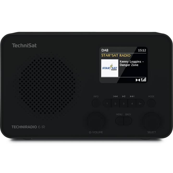 TECHNISAT Techniradio 6 IR Radio digitale (Nero)