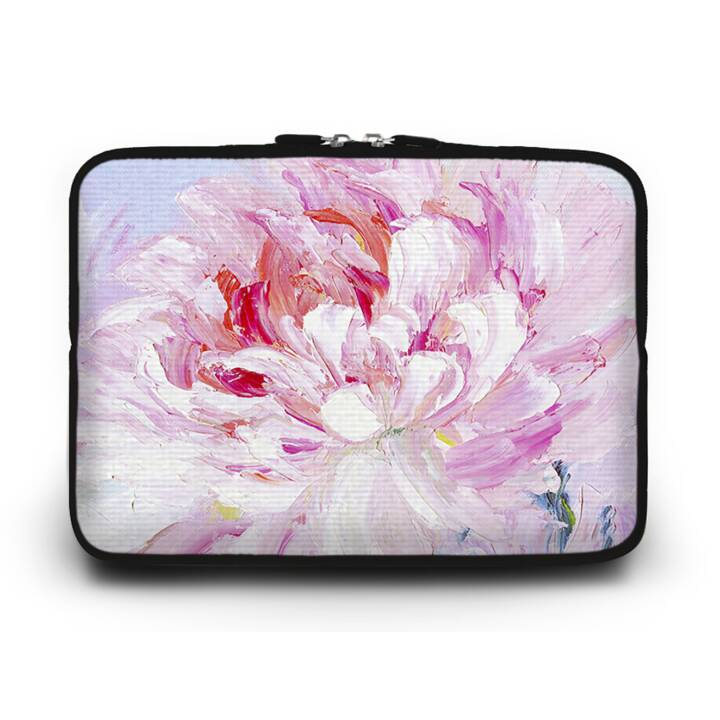 """EG Huado Housse d'ordinateur portable pour 17"""" - fleur rose"""