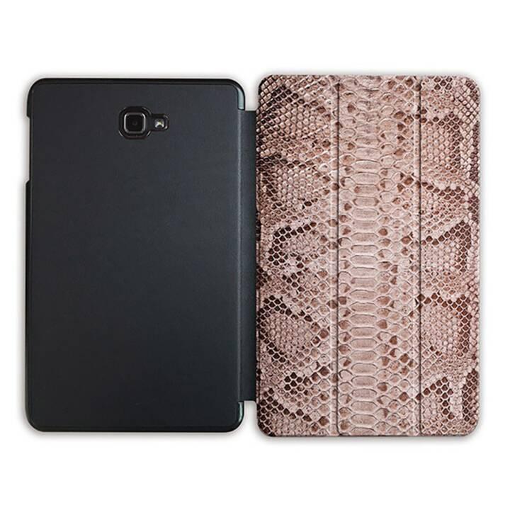 """EG MTT Tablet Tasche mit Smart faltbare Abdeckung für Samsung Galaxy Tab A 10.1"""" (2016)- Schlangenhaut"""