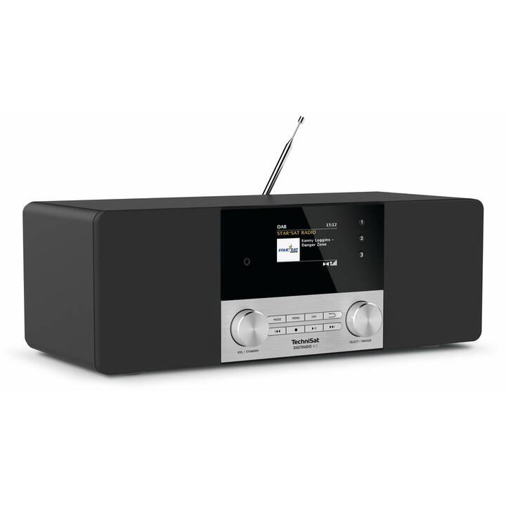 TECHNISAT Digitradio 4 C Radio digitale (Nero, Argento)