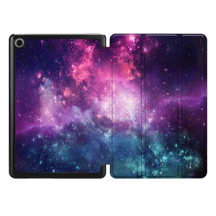 "EG MTT Housse pour HUAWEI MediaPad T5 10.1"" 2018 - univers"