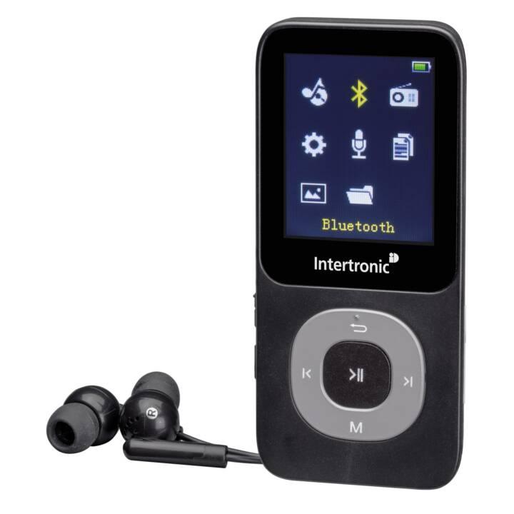 INTERTRONIC MP3-Player MP3 767 BLT 4 GB Black