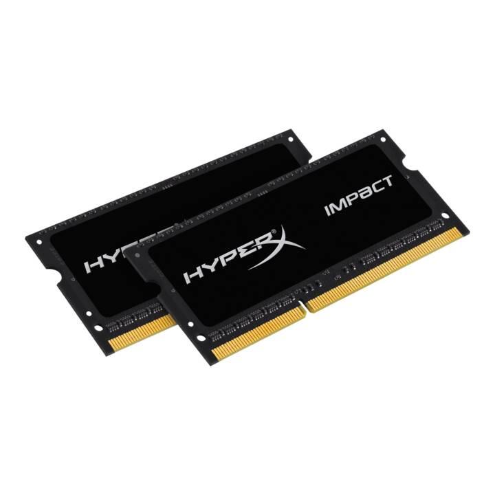 HYPERX Impact (2 x 8 GB, DDR3L-SDRAM, SO-DIMM 204-Pin)