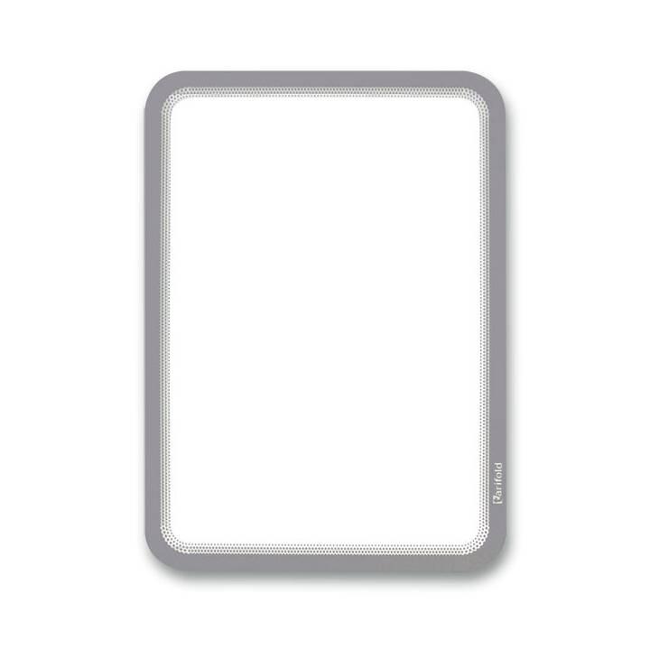 TARIFOLD Sichtmappe (Silber, Transparent, A4, 2 Stück)