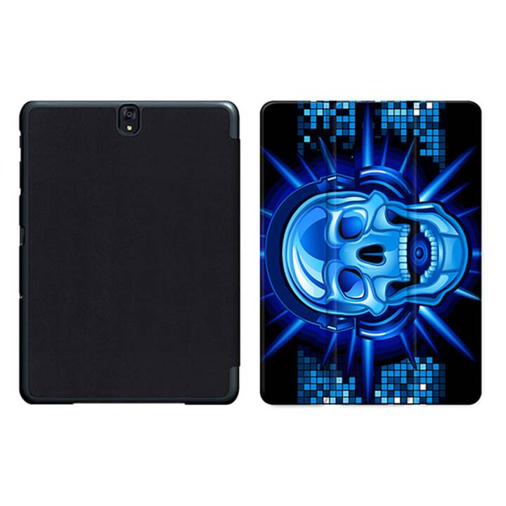 "EG MTT Tablet Bag con coperchio pieghevole Smart per Samsung Galaxy Tab S3 9.7"" MTT - Skeleton"
