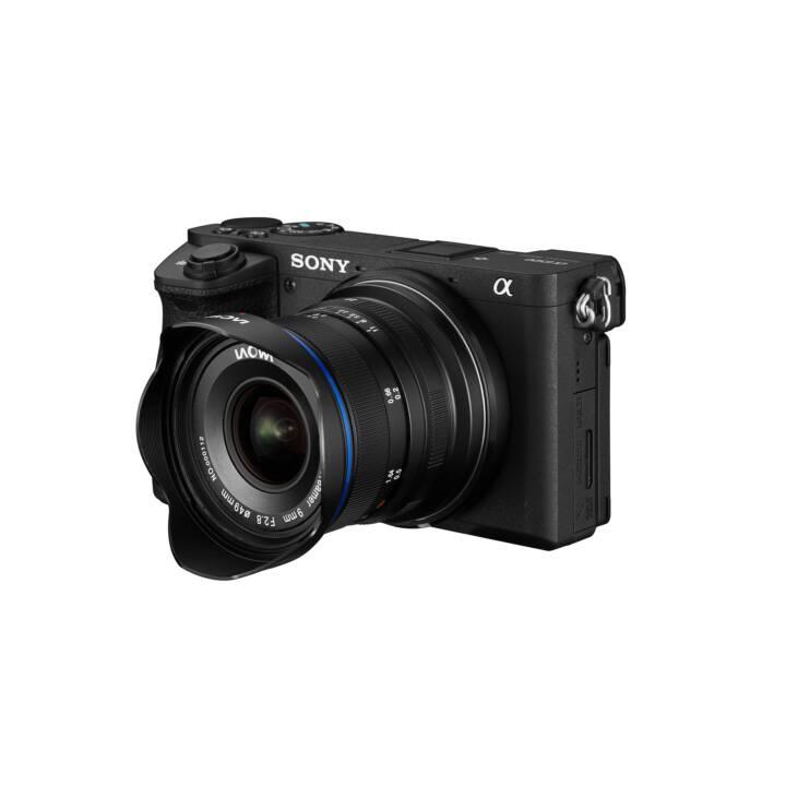 LAOWA 9mm f/2.8 Zero-D SLR Ultraweitwinkelobjektiv Schwarz