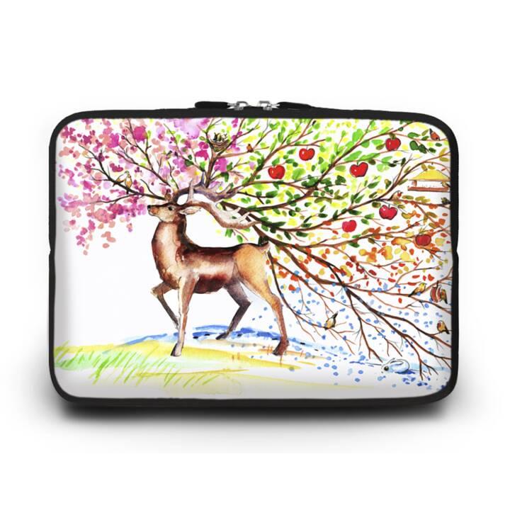 """EG HUADO Housse d'ordinateur portable pour 13"""" - Deer"""