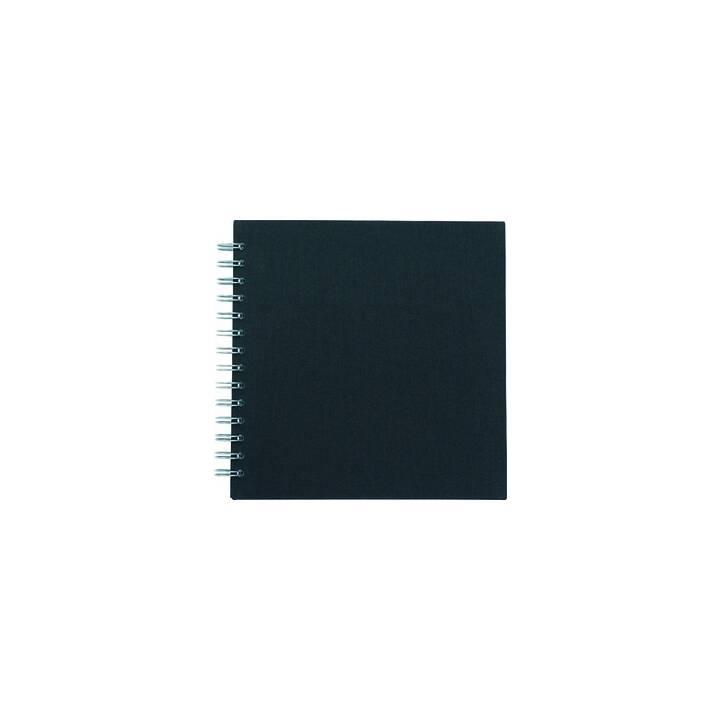 EIBERT Skizzenbu.creative noir 32x32 cm