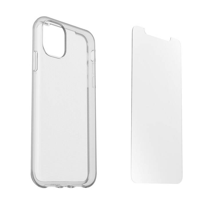 OTTERBOX Backcover + Alpha Glass (iPhone 11, Transparent)