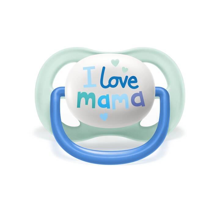 PHILIPS AVENT Ciucci Ultra Air Happy Mama & Boat (Turchese, Blu chiaro, Multicolore, 0 Mesi)