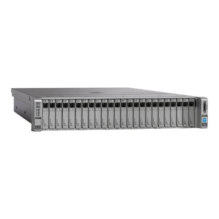 CISCO UCS-SPR-C240M4-BA1 (Intel C612, 32 GB, 2.2 GHz)