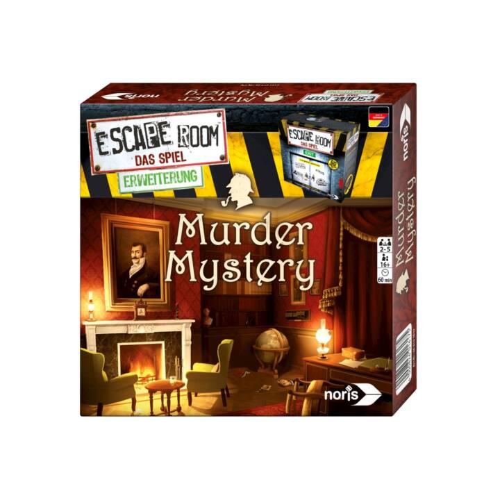 NORIS jeu de détective Escape Room Murder Mystery