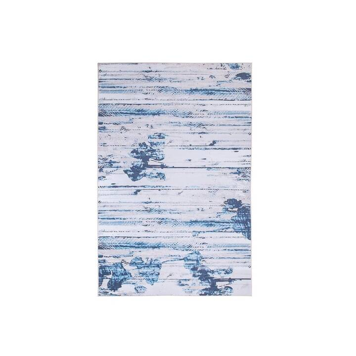 BELIANI Tappeto Burdur (140 cm x 200 cm, Blu)